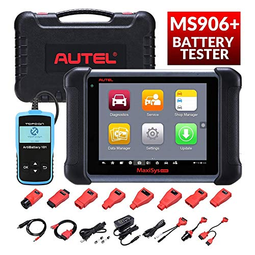 Buy Bargain Autel MaxiSys MS906 Diagnostic Scanner with Free Battery Tester AB101, 2020 New Model wi...