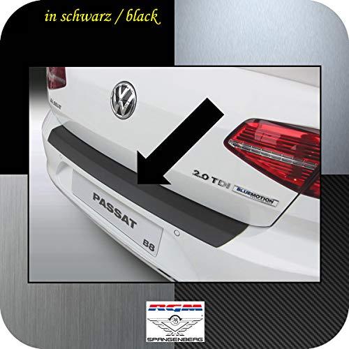 Richard Grant Mouldings Ltd. Protection de seuil de chargement RGM - Noir - Pour Volkswagen VW Passat B8 Berline 4 portes (3G 3G2) à partir de 08.2014 - RBP819