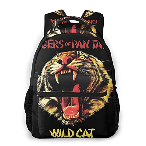 Lawenp Casual Backpack Tygers of Pan Tang Wild Cat Casual Backpack,Backpack Gift for Men and Women,Multifunctional Backpack,Laptop Backpack