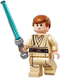 LEGO Minifigure - Star Wars - OBI-WAN KENOBI with Lightsaber (Young)