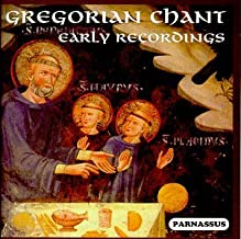 Gregorian Chant: Early Recordings