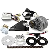 450W Newest Electric Bike Left Drive Conversion Kit Can Fit Most of Common Bicycle Use Spoke Sprocket Chain Drive for City Bike(36V Thumb Kit)