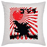 Godzilla Japan Poster Kissen Pillow