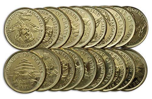 Game of Thrones - Münzen Set Daenerys Targaryen Golden Mark 15er Set