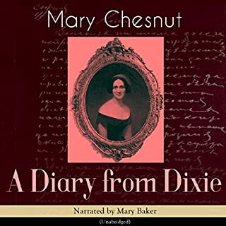 A Diary from Dixie audiobook cover art