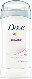 Dove Antiperspirant Deodorant Powder 2.6 oz (Pack of 3)