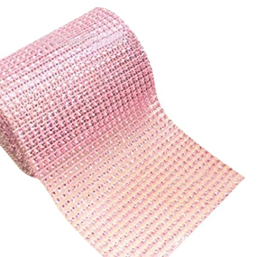 1Patio (plástico, rollo de malla Wrap partido decoración de la boda