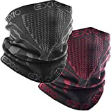 EXIO Winter Neck Warmer Gaiter/Balaclava (1Pack or 2Pack) - Windproof...