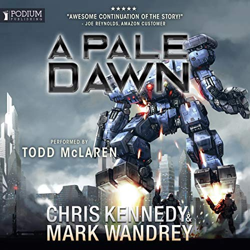 A Pale Dawn audiobook cover art