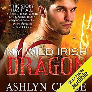 My Wild Irish Dragon audiobook cover art