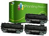 Printing Pleasure 2X Tóner Compatible con HP Laserjet P2030 P2033 P2035 P2035N P2050 P2055 P2055D P2055DN P2055X Canon MF5880DN LBP6300DN LBP6310DN LBP6650DN LBP6670DN | CE505A 05A CRG 719 3479B002