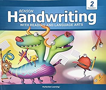 Paperback Benson Handwriting with Reading and Language Arts - 2 Transition Book
