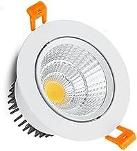 JSJJAQW wandlamp Ronde Dimbare Inbouw LED Downlights 5W 7W 9W 12W 15W 18W COB LED Plafondlamp Verlichting AC110-220V LED L...