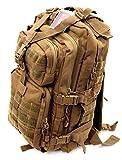 ストームクロス (STORMCROS) アサルトバッグ リュックサック リュック 容量30㍑ 登山 自衛隊 ミリタリー アーミー ビジネス バッグ (タン)1588