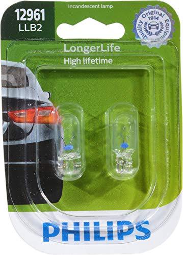 Price comparison product image Philips 12961LLB2 LongerLife Miniature Bulb,  2 Pack