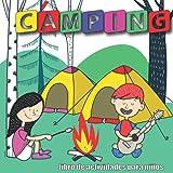 Libro de actividades de camping para niños english: Libro de rompecabezas para niños | Búsquedas de palabras, laberintos, ¿prefieres, imágenes ocultas y mucho más?
