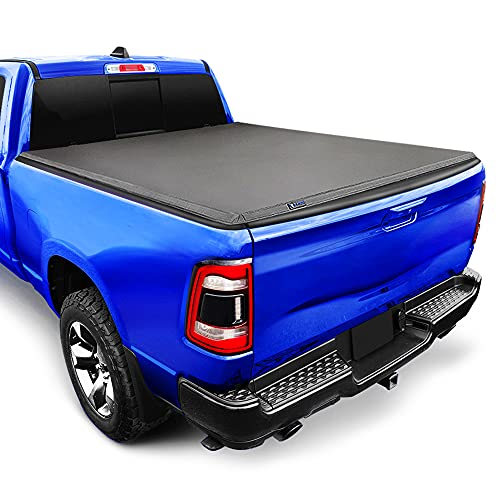 """Tyger Auto T3 Soft Tri-Fold Truck Bed Tonneau Cover for 2019-2021 Ram 1500 New Body Style 