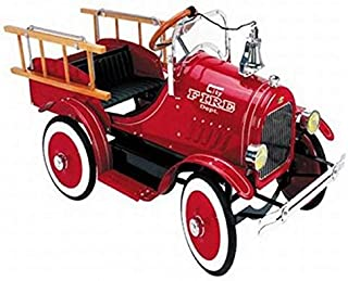 Blue Diamond Classics Model A Fire Truck Pedal Car