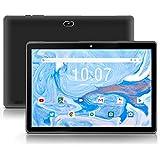 Android 10.0 Tablet 10 inch qunyiCO Y10 (10.1''), 2GB RAM 32GB Storage, 2MP+8MP Dual Camera, Quad-Core Processor, 1280x800 IPS HD Display Screen, Wi-Fi Bluetooth 5000mAh, Google GMS Certified Black