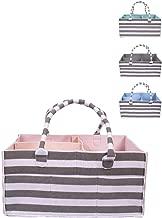 Caddy Organizer - 4 Colors - Large Tote Bag - Newborn Essentials - Car Organizer - Diaper Caddy - Nursery Storage Basket - Craft Storage and Organization - Baby Shower Registry Must Have!