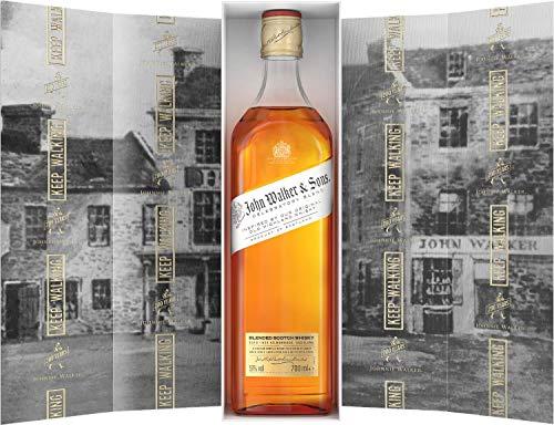 John Walker & Sons 200th Anniversary Celebratory Blend, Blended Scotch Whisky, con caja de regalo - 700 ml