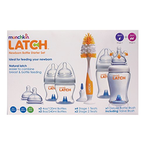 Munchkin Latch Newborn Bottle Starter Set