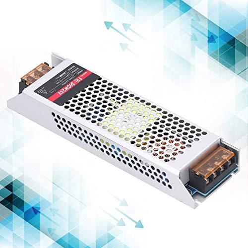 Fuente de alimentación conmutada Transformador de controlador de fuente de alimentación LED que incluye tiras de luces LED Suministros industriales 300W AC190‑240V(DC24V, pink)