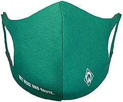 Werder Bremen SV Maske Mit Herz & Raute Mund Nasen Maske