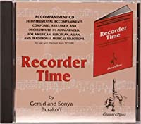 Rhythm Band Instruments SP2308CD Recorder Time - Book 1 CD Elementary Book