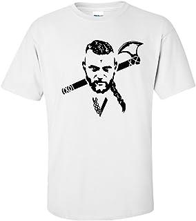 Harlequin Designs Viking con impresión de colibríes y T-diseño de Camiseta de, Ventilador para of Vikings y a los Lothbrok Ragnar