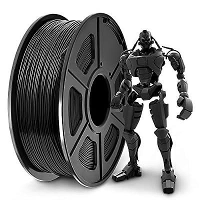 SUNLU PLA Plus 3D Filament 1.75mm for 3D Printer & 3D Pens, PLA+ Filament Tolerance Accuracy +/- 0.02 mm