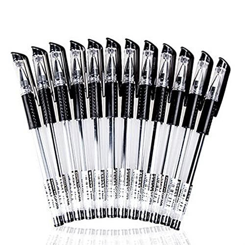 Sign Llen Papelería Tinta Negra para Suministros de Escritura Gel Pen School Office Supplies Artículos de Escritura Bolígrafos 20pcs / Lote