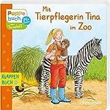 Mit Tierpflegerin Tina im Zoo: Berufe und Zoo-Tiere entdecken (Bilderbuch ab 2 Jahre) - Evelyn Frisch