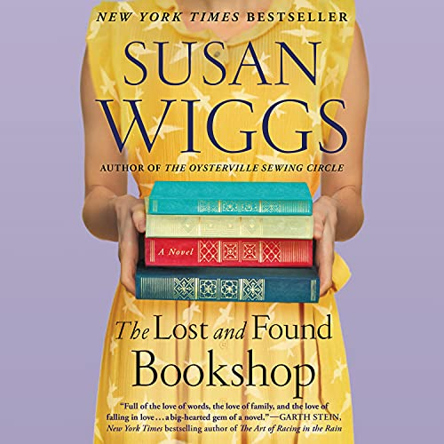 The Lost and Found Bookshop Audiobook By Susan Wiggs cover art