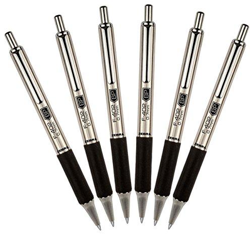 ZEB29210 - Zebra Pen F402 Retractable Ballpoint Pen