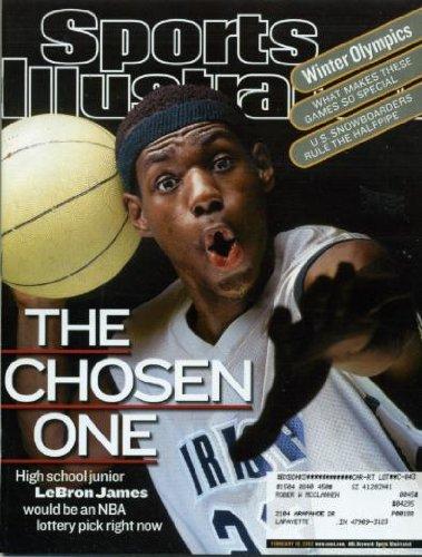 Sports Illustrated February 18, 2002 LeBron James - High School Junior, Winter Olympics Salt Lake City