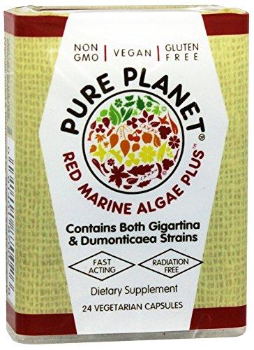 Pure Planet, Organic Red Marine Algae Plus, 24 Count