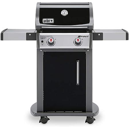 Weber 46110001 Spirit E-210 Gas Grill   Liquid Propane, 2-Burner   Black