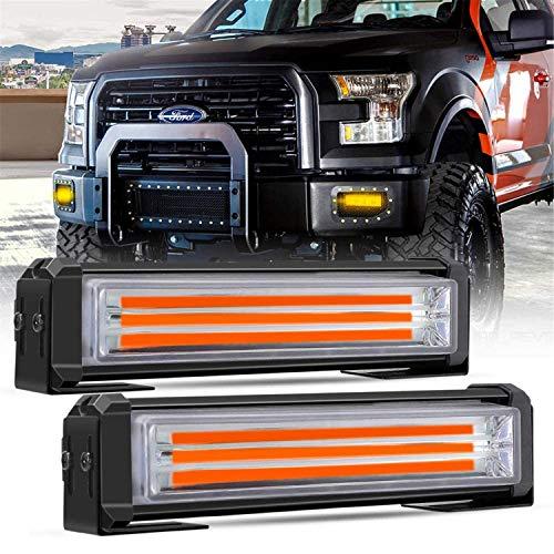 N \ A Luces de Advertencia para automóviles, Mini Barra de Luces estroboscópicas, lámpara de luz estroboscópica de Emergencia de precaución para vehículos de construcción y Camiones de Remolque