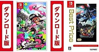 Splatoon2 (スプラトゥーン2)|オンラインコード版 + モンスターハンターダブルクロス™ Nintendo Switch Ver.