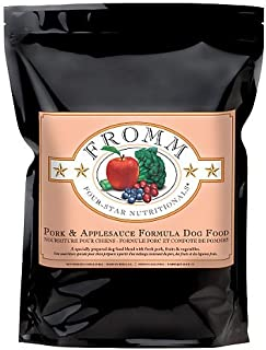 Fromm Family Foods 727687 4-Star Pork/Applesauce 30 Lb Dry Dog Food (1 Pack), One Size