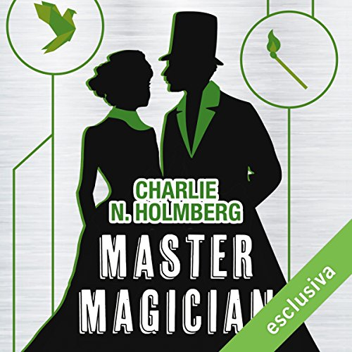 Master Magician audiobook cover art
