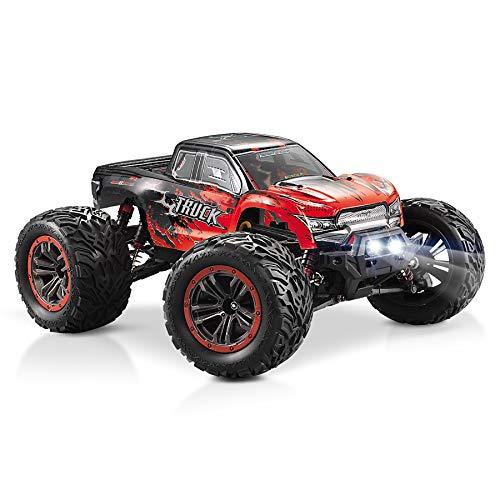 Hosim Ferngesteuertes Auto mit Schneller Geschwindigkeit 46 km/h, 1:12 Maßstab Elektro Fahrzeug 4WD, Kinder Und Erwachsene (Rot)