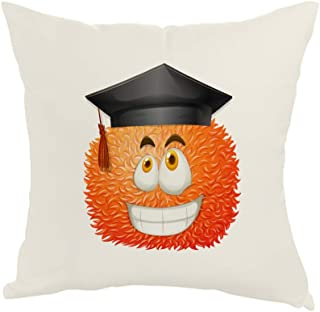 Printed Pillow, Fabric Canvas 40X40 cm, Cartoon Fees - Graduation Day