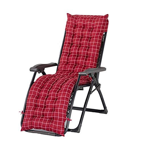 Lefuyan Cojín para silla de salón, sillón reclinable portátil, cojín para muebles de jardín, sofá de jardín, balcón, solo cojines