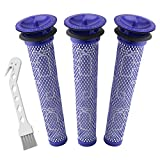 Wolfish 3 Pack Pre Filters for Dyson DC58, DC59, V6, V7, V8....