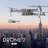 Nouveau Drone X-pro 2.4G Selfie WiFi FPV avec Caméra HD 1080P Quadricoptère RC pliable RTF Une Clé Décollage / Atterrissage, Maintien en Altitude, Grands Cadeaux Jouets YUYOUG (A)