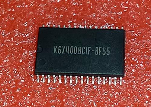1 unids/lote K6X4008C1F-BF55 SOP-32 K6X4008C1F BF55 TSOP-32 Chips de memoria 512Kx8 bit Baja potencia completa CMOS RAM estática en stock