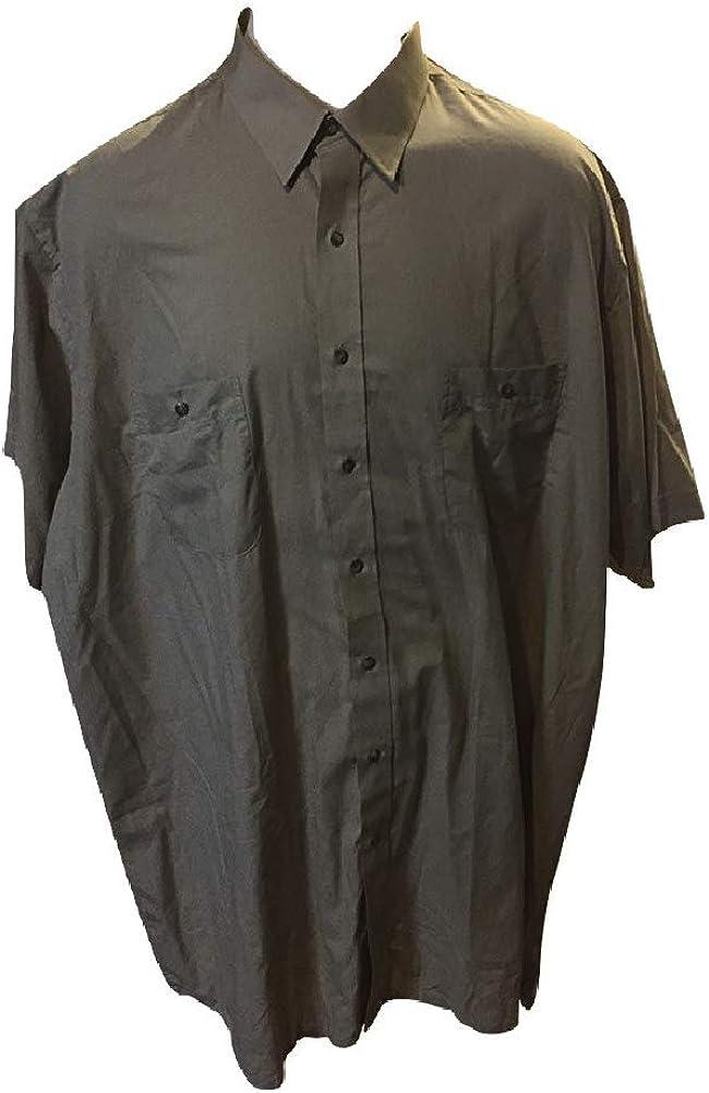 Big and Tall Two Pocket Square Bottom Camp Shirts