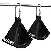 A2ZCARE Premium Ab Straps Set | Pair of Hanging Straps for Pull Up Bar Workout, Fitness, Gym and Abdominal Exercises